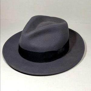 JAXON HATS 100% Wool Crushable Fedora